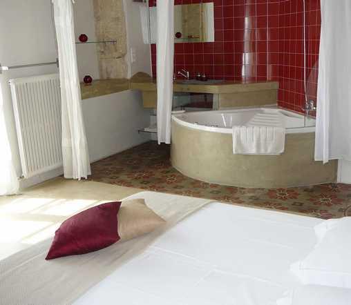 Chambre d'hote Gard - Chambre Eau de Rose