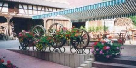 Ferme-Auberge du Moulin des Sept Fontaines La terrasse de l'auberge