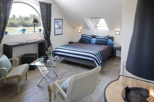 Chambre d'hote Calvados - Suite BLUE SPA