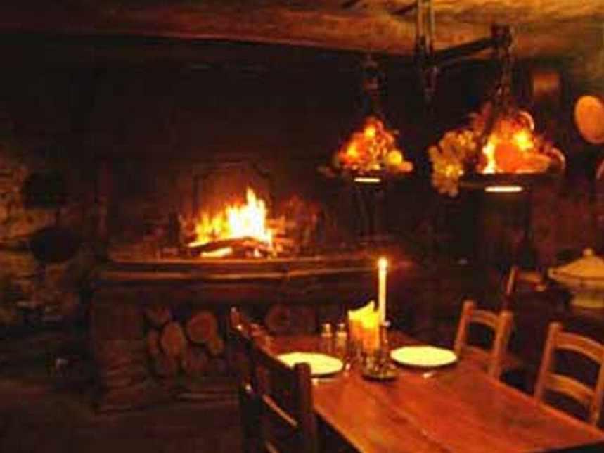Les grillades dans la cheminée