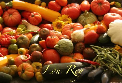 Chambre d'hote Lozère - les légumes du Rey