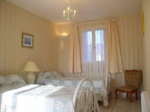 Chambre d'hote Saône-et-Loire - La 2ème chambre Sophie avec 2 lits individuels