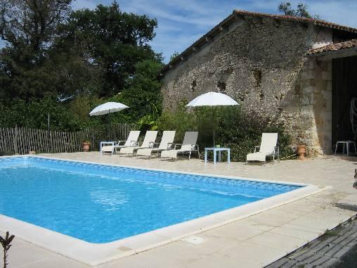 Chambre d'hote Charente-Maritime - la piscine
