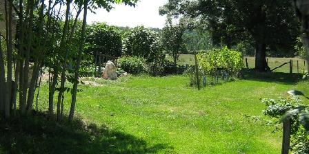Les Galards The garden