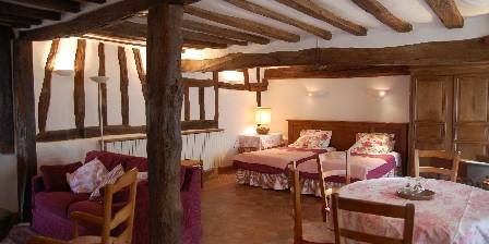 La Ferme des Perriaux  Rose room