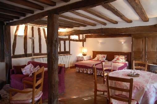 bed & breakfast Yonne -  Rose room