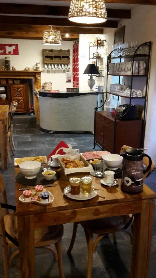 Chambre d'hote Finistère - La salle à manger