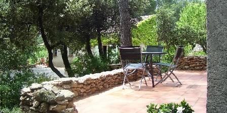 Gîte Le Romarin La terrasse du Romarin