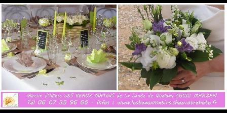 Gîtes les Beaux Matins Lieu de cérémonie, demande ou anniversaire de mariage