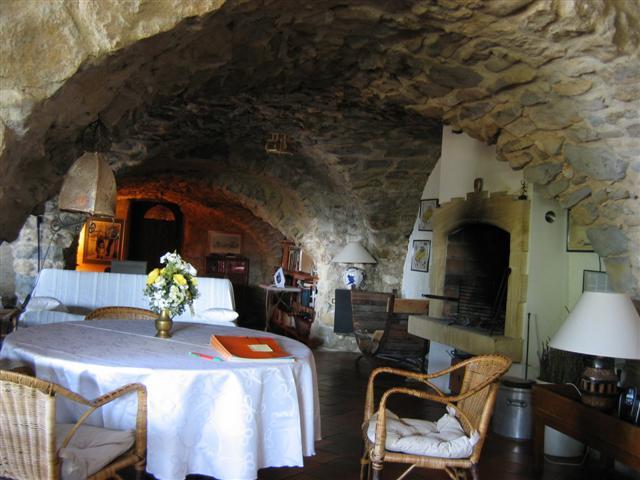 bed & breakfast Alpes de Haute Provence - The lounge..