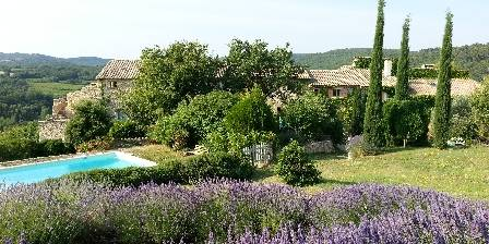 Clos d'Hullias  Clos d'Hullias, view from the terraces with lavender