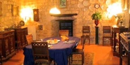 Le presbytère de Cestayrols La salle à manger