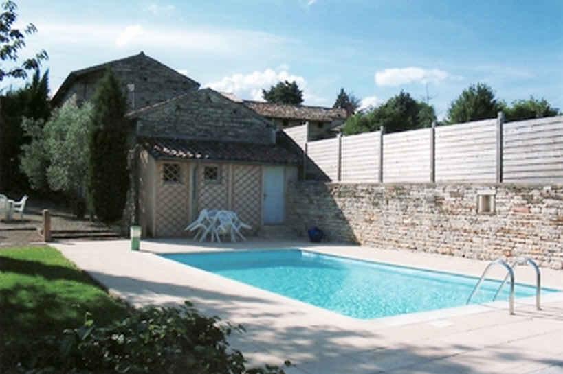 Chambre d'hote Saône-et-Loire - Piscine chauffée a partir de 2009