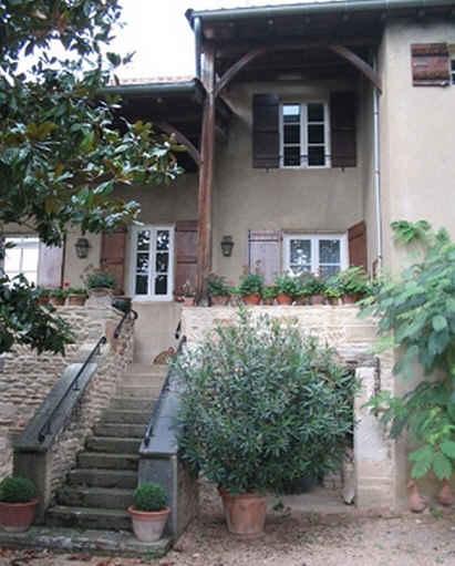 Chambre d'hote Saône-et-Loire - terrasse
