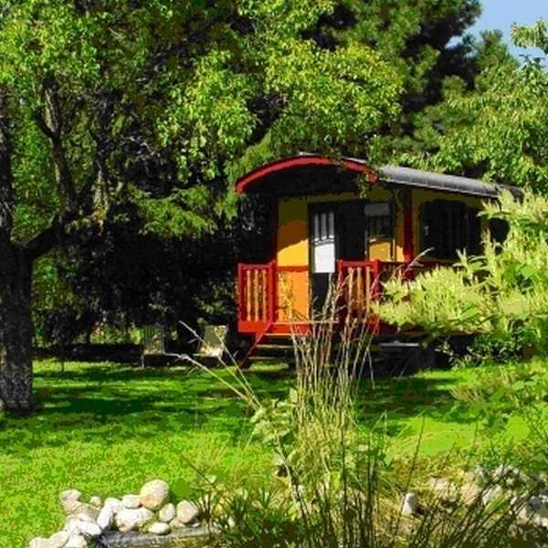 Chambre d'hote Aveyron - La roulotte d'Edouard