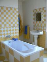 salle de bain, douche ,lavabo