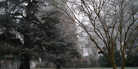 Le Jourdy Givre sur le parc