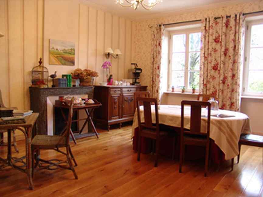 Chambre d'hote Meuse - La salle des petits déjeuners