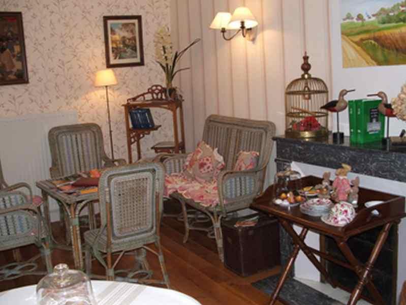Chambre d'hote Meuse - La bibliothèque, une ambiance