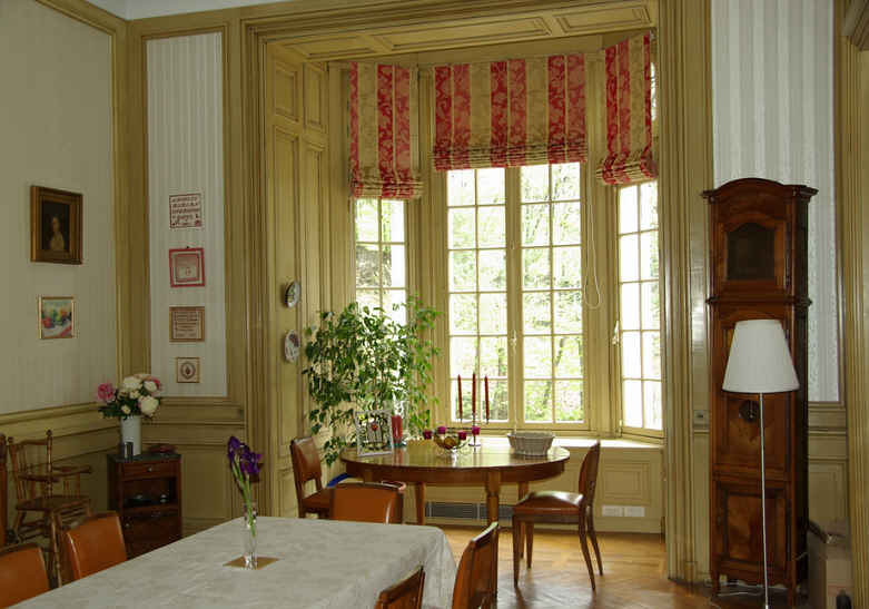 bed & breakfast Loire - the dining-room