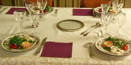 Chambre d'hotes Villa Roassieux > Table d'hôte et dîners à la Villa Roassieux