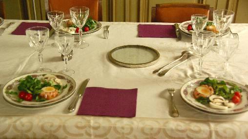 Table d'hôte et dîners à la Villa Roassieux