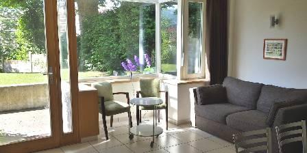 Chambre d'hotes Villa Roassieux > Séjour de l'Annexe, gîte accessible PMR
