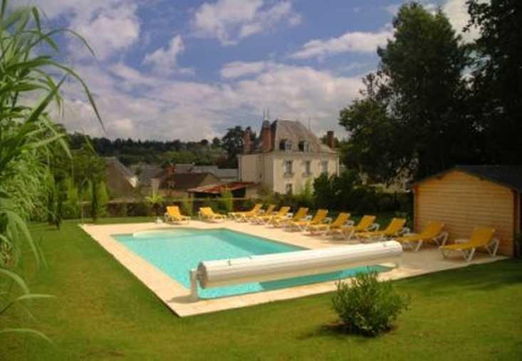 Chambre d'hote Indre-et-Loire - Piscine dans le Parc