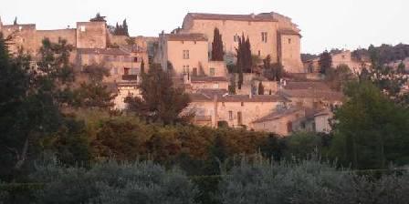 Holiday rental Bastide du Soleil > vue du village depuis le parc