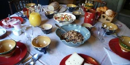 Chalet Chatelet L'art de petit déjeuner!