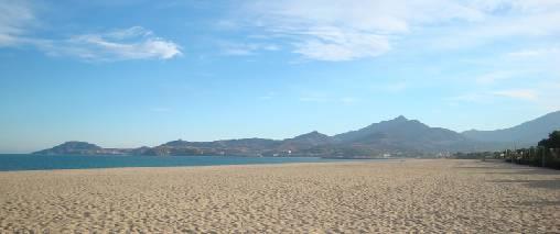 La plage à 7km