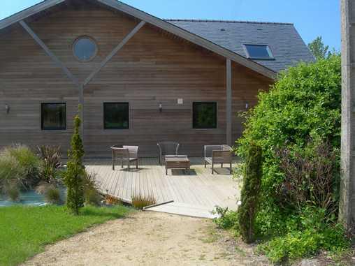 Chambre d'hote Finistère - gîte en bois