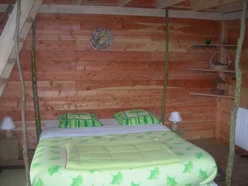 Chambre d'hote Finistère - intérieur cabane