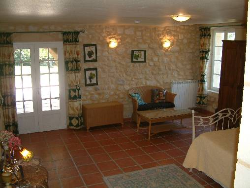 bed & breakfast Gironde - Beau Séjour The West Room and view over the park