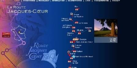 Route Jacques Coeur : châteaux privés