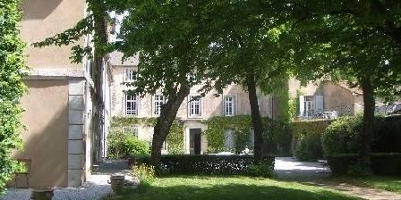 Château de Pardailhan L'aile ouest et le corps central