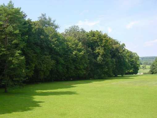 Chambre d'hote Haute-Saône - Vue du parc