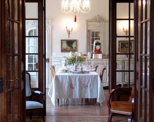 Chambre d'hote Haute-Saône - La table dréssée