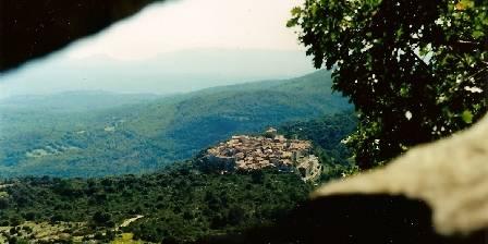 Maison Castely Vue du village