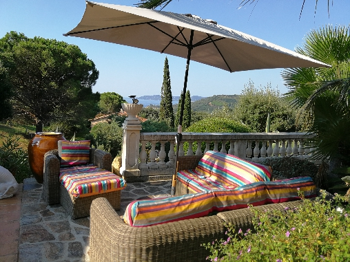 bed & breakfast Var - seaview from castelmau