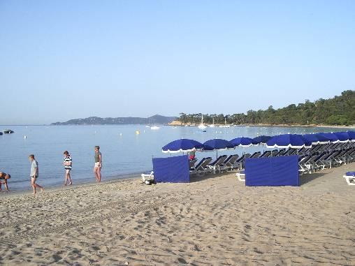plage de sable fin de Cavalière