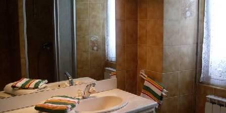 Chambres d'hotes au Saint Avit La salle de bain