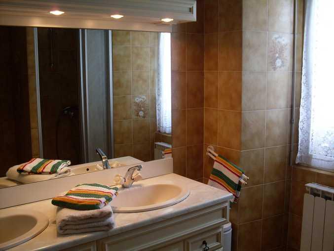Chambre d'hote Manche - La salle de bain