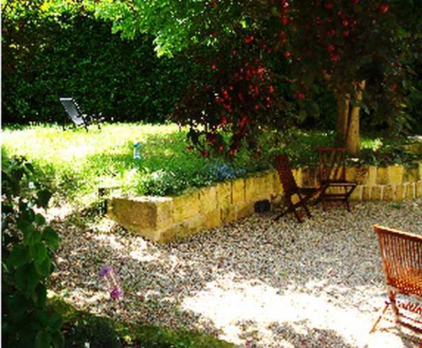 Chambre d'hote Gironde - jardin