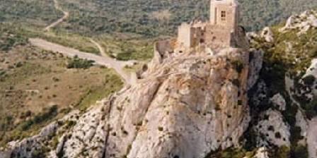 La Posada Le château de Queribus
