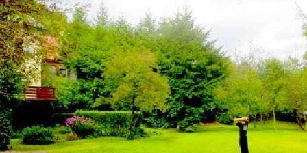 Les Volets Bleus Vosges Le parc