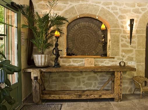 Chambre d'hote Alpes de Haute Provence - LA RECEPTION DU RESTAURANT