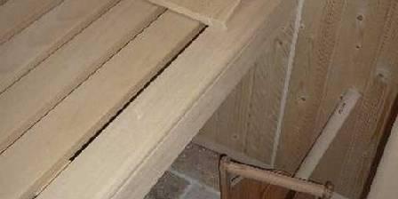 Au Bonheur Apprivoise Gîte Libellule - Le sauna