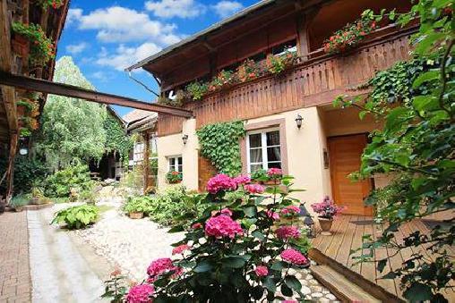 bed & breakfast Bas-Rhin - inside garden