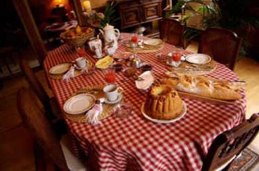 Chambre d'hote Bas-Rhin - Petit déjeuner